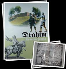 album o historii zamku Drahim autorstwa Marka Fijałkowskiego